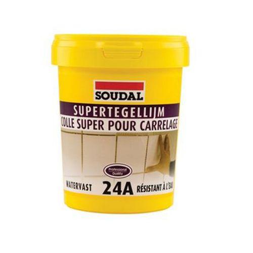 Soudal tegellijm 'Super 24A' 15 kg