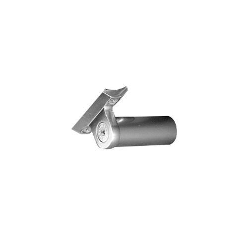 Support main courante ajustable Sogem 'S8' aluminium - 2 pcs