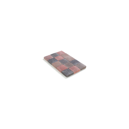 Coeck kassei herfstkleurig getrommeld 15x15x4cm