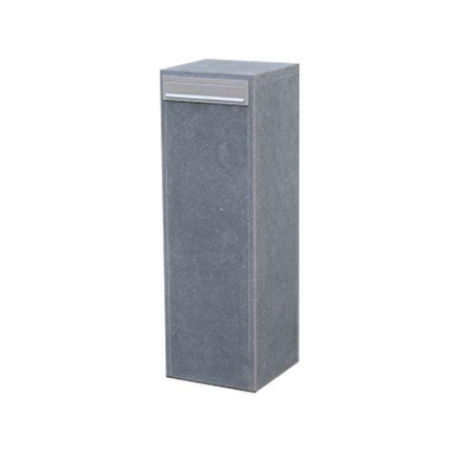 Boite aux lettres sur pied VASP 'Cordoba small' pierre bleue belge