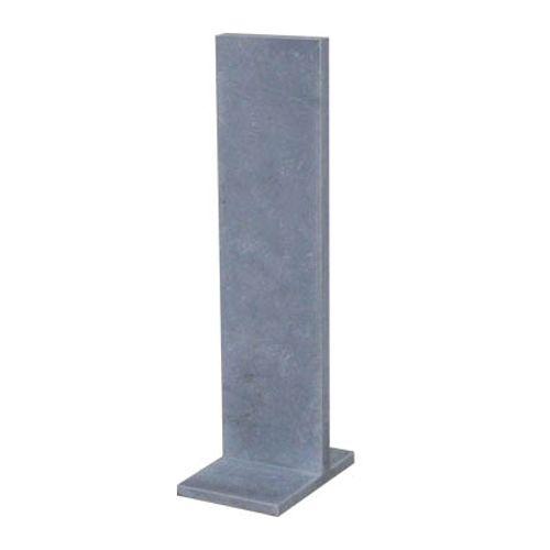 Support pour boîte aux lettres VASP 108 x 40 x 5 cm pierre bleue Belge