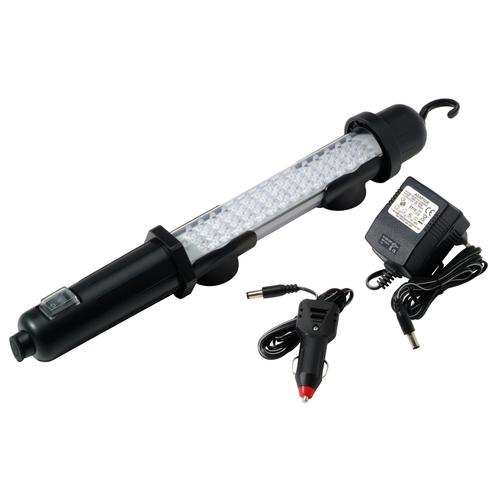 Profile LED handlamp oplaadbare zwart