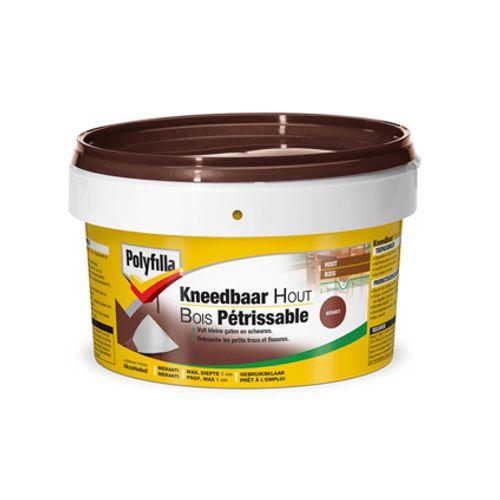 Polyfilla pasta kneedbaar hout meranti 500 gr