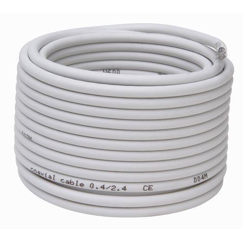 Kopp coax kabel 4,9mm² 75 Ohm wit 10m
