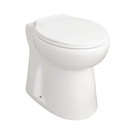WC broyeur Broyelec Compact blanc