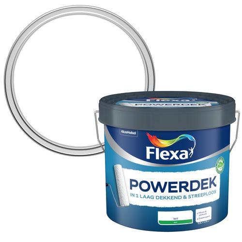 Flexa muurverf Powerdek Muren & Plafonds 2,5L