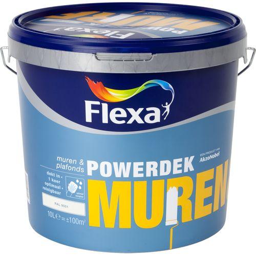 Flexa muurverf Powerdek Muren & Plafonds 9001 10L