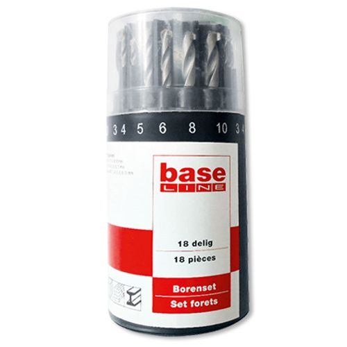 Set de forets Baseline - 18 pcs