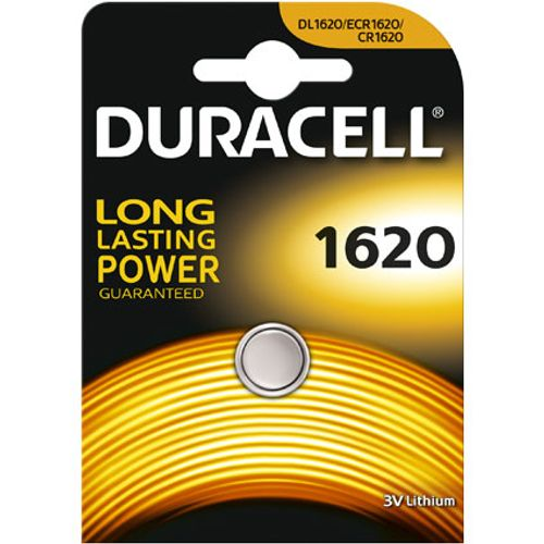 Pile bouton lithium Duracell '1620' 3 V