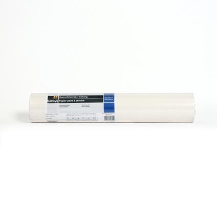 Sencys overschilderbaar vinylbehang Spikkel wit