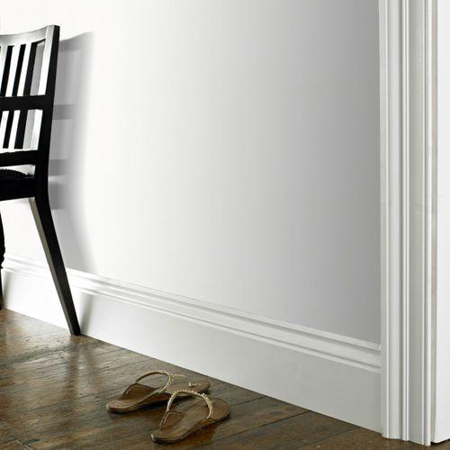 Papier peint intissé à peindre Sencys Mercer blanc