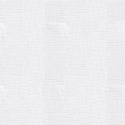 Papier peint intissé à peindre Sencys Tissus blanc