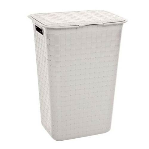 Allibert wasmand 'Nuance Clay' wit 48 L