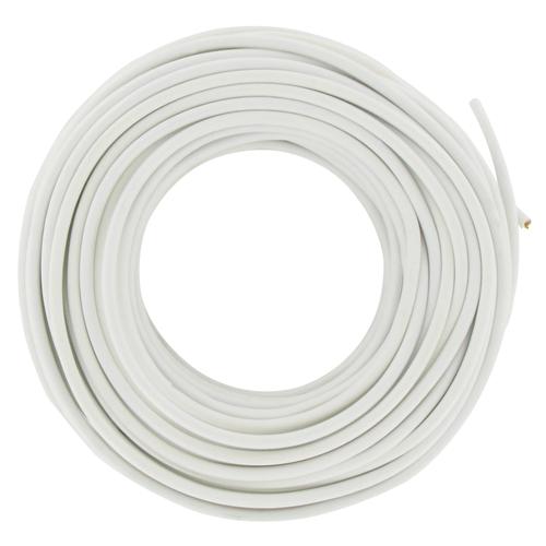 Cable téléphonique rond 20 m