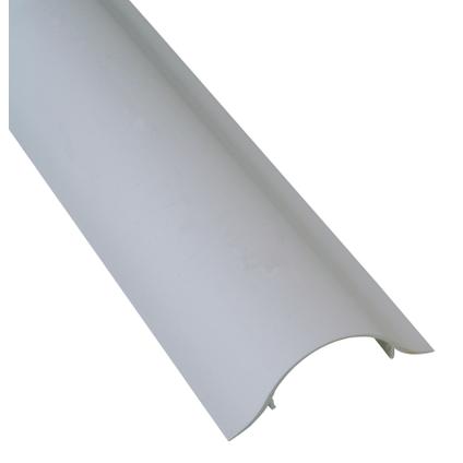 Goulotte Cache Cable Kopp Pour Montage Sur Tv Blanc Plat 100cm