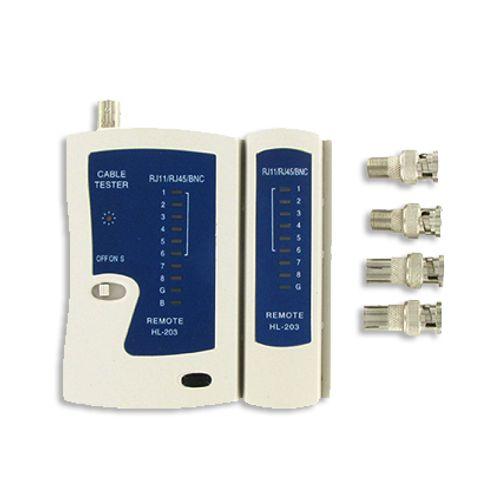Kopp kabeltester 3 in 1 rj11/rj45/47 en coax