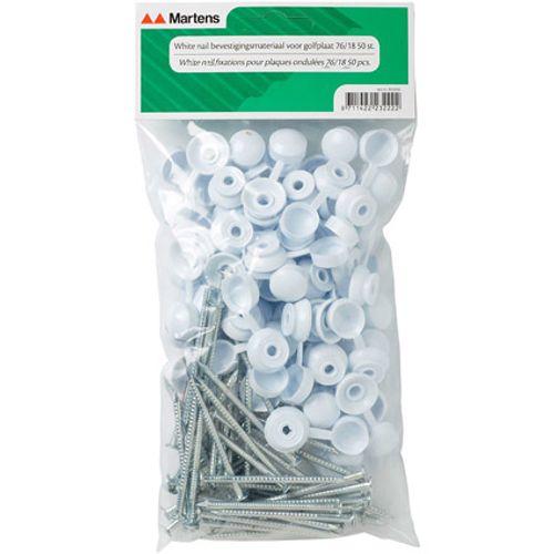 Martens whitenail bevestigingsmateriaal p/50st
