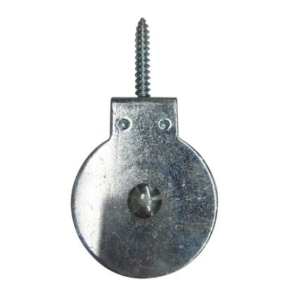 Sencys katrol staal grijs Ø 7 mm x 50 mm