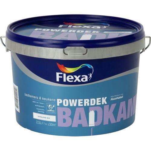Flexa muurverf Powerdek Badkamers & Keukens 2,5L