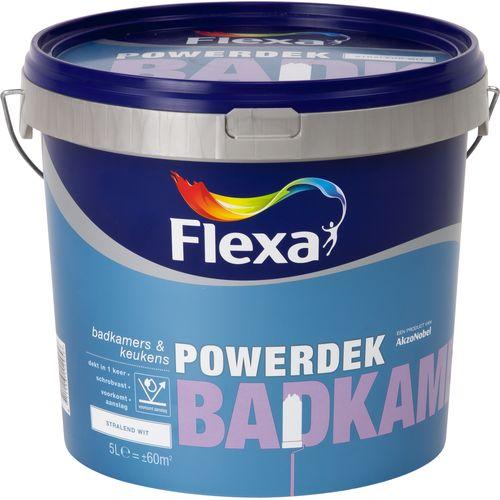 Flexa muurverf Powerdek Badkamers & Keukens 5L