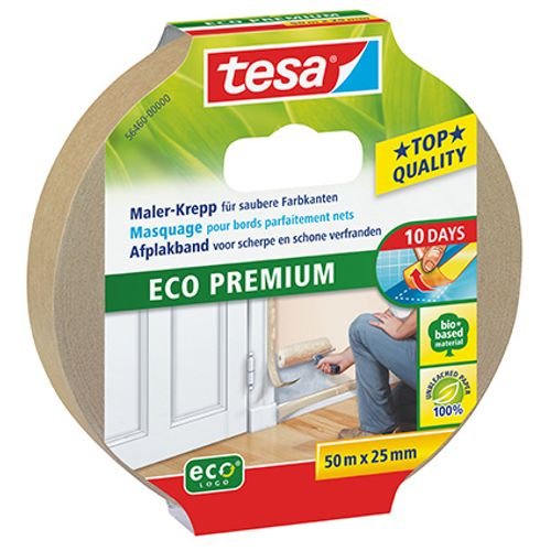 Masquage pour bords parfaitments nets Tesa 'Eco Premium' 50mx25mm