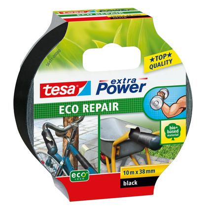Tesa Eco Repair 'Extra Power' zwart 10mx38mm