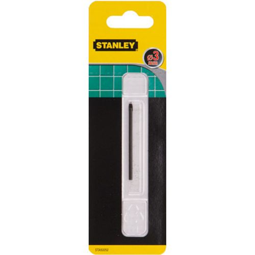 Stanley tegel- & glasboren 3mm