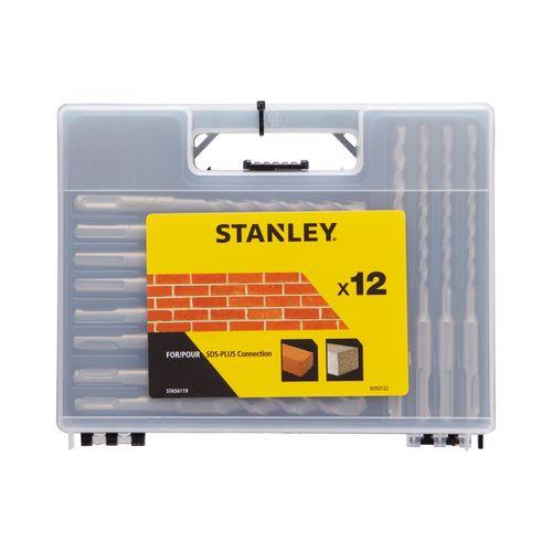 Foret à béton Stanley 'SDS+' - 12 pcs