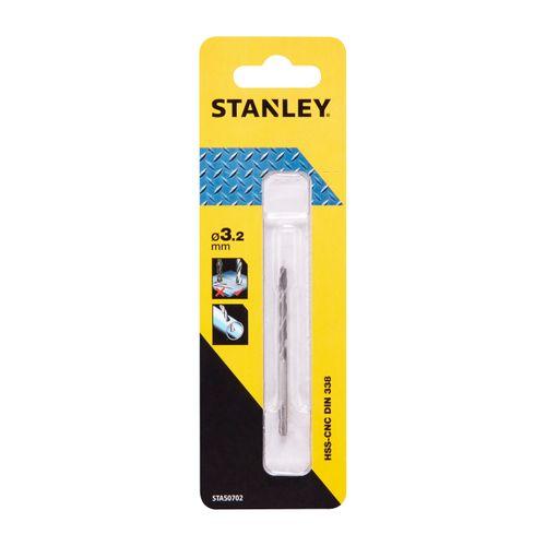 Foret à métal Stanley 3,2 mm