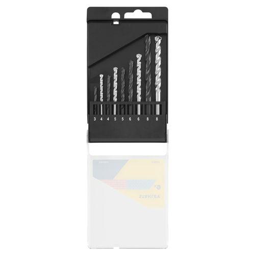 Set de forets Stanley métal et béton - 9 pcs