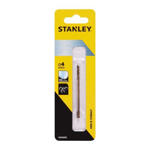 Stanley metaalboor kobalt 4mm