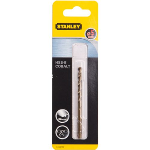 Foret à métal Stanley cobalt 5 mm