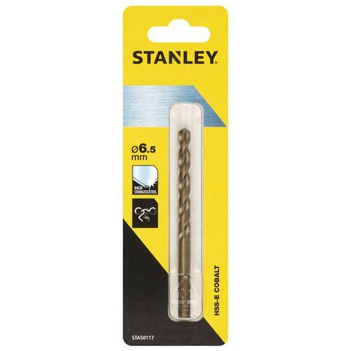 Stanley metaalboor kobalt 6,5 mm