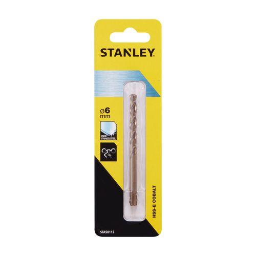 Stanley metaalboor kobalt 6mm