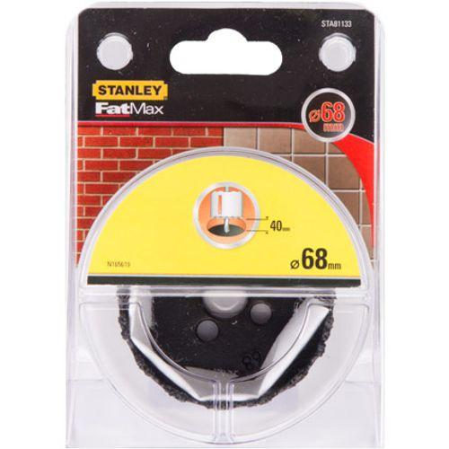 Scie à cloche Stanley 'FatMax STA81133-QZ' grains TCT 68 x 40 mm