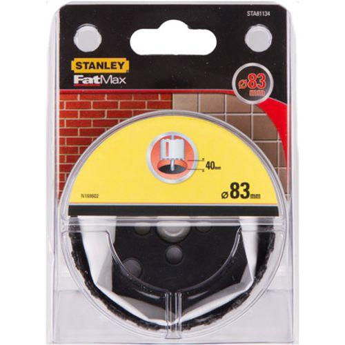 Scie à cloche Stanley 'FatMax STA81134-QZ' grains TCT 83 x 40 mm