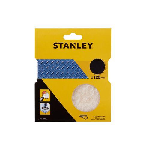Stanley polijstschijf met wol 125mm