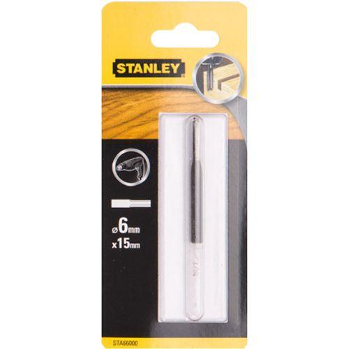 Fraise droite Stanley 6 mm