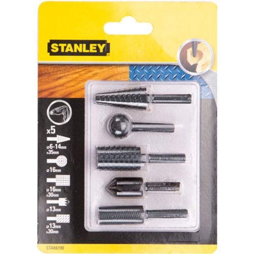Set de mèches à chanfreiner Stanley - 5 pcs
