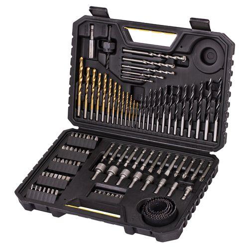 Stanley 100-delige boren- en bitsset