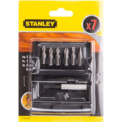 Set d'embouts de vissage Stanley 'STA60480-XJ' - 7 pcs