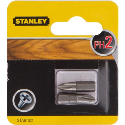 Embout Stanley 'Ph2' 25 mm - 2 pcs