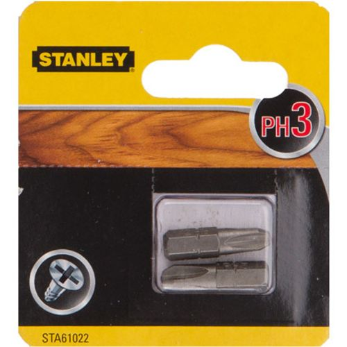 Embout Stanley 'Ph3' 25 mm - 2 pcs