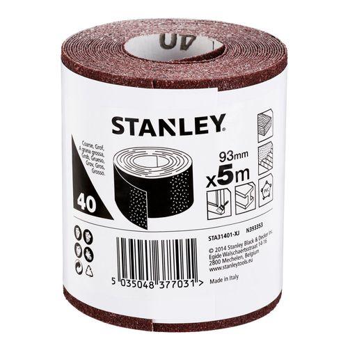 Stanley rol schuurpapier 93mm x 5m k40