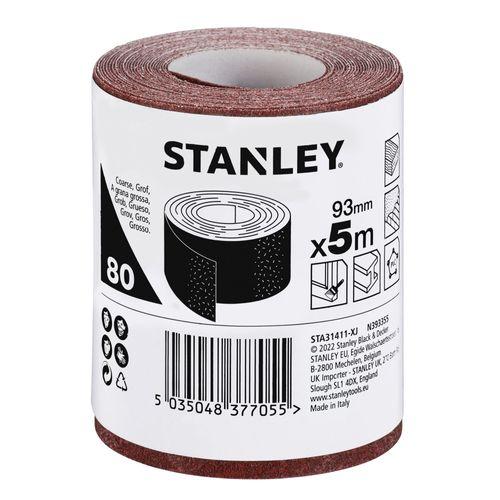 Stanley rol schuurpapier 93mm x 5m k80