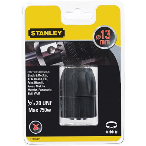 Stanley zelfspannende boorkop 13 mm