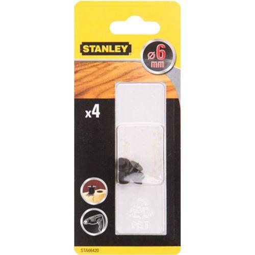 Stanley centreerpunten 'STA66420-QZ' 6 mm - 4 stuks