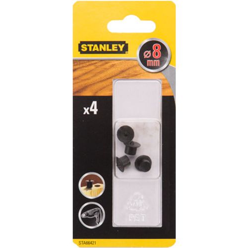 Pointe de centrage Stanley 'STA66421-QZ' 8 mm - 4 pcs