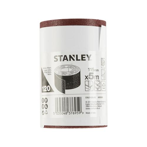 Stanley rol schuurpapier K120 500 x 11,5 cm