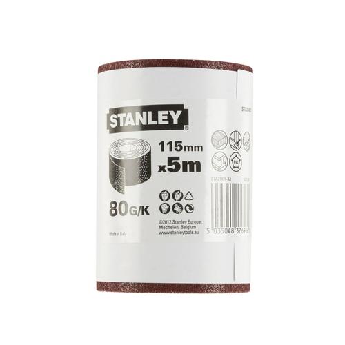 Stanley rol schuurpapier K80 500 x 11,5 cm